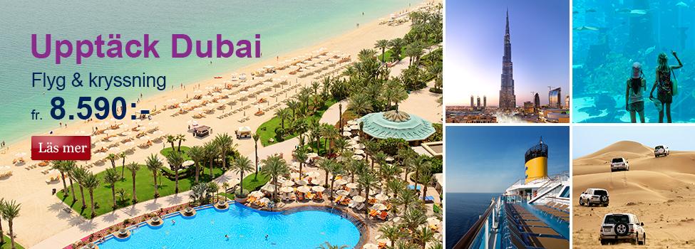 Upptäck Dubai