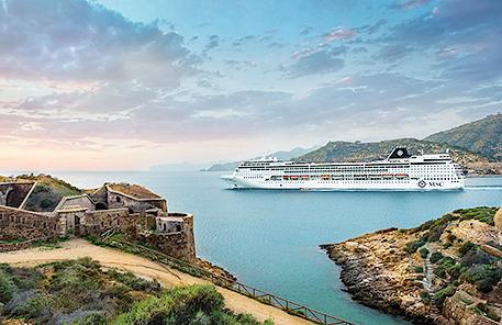 Kryssningar MSC Cruises Medelhavet