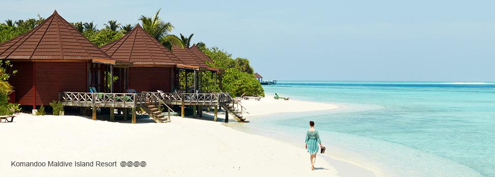 Komandoo Maldive Island Resort, Maldiverna